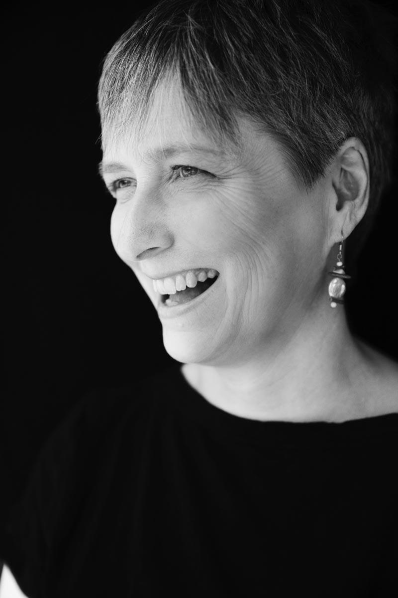 Artist Susan Singer.  Image by Kim Brundage.