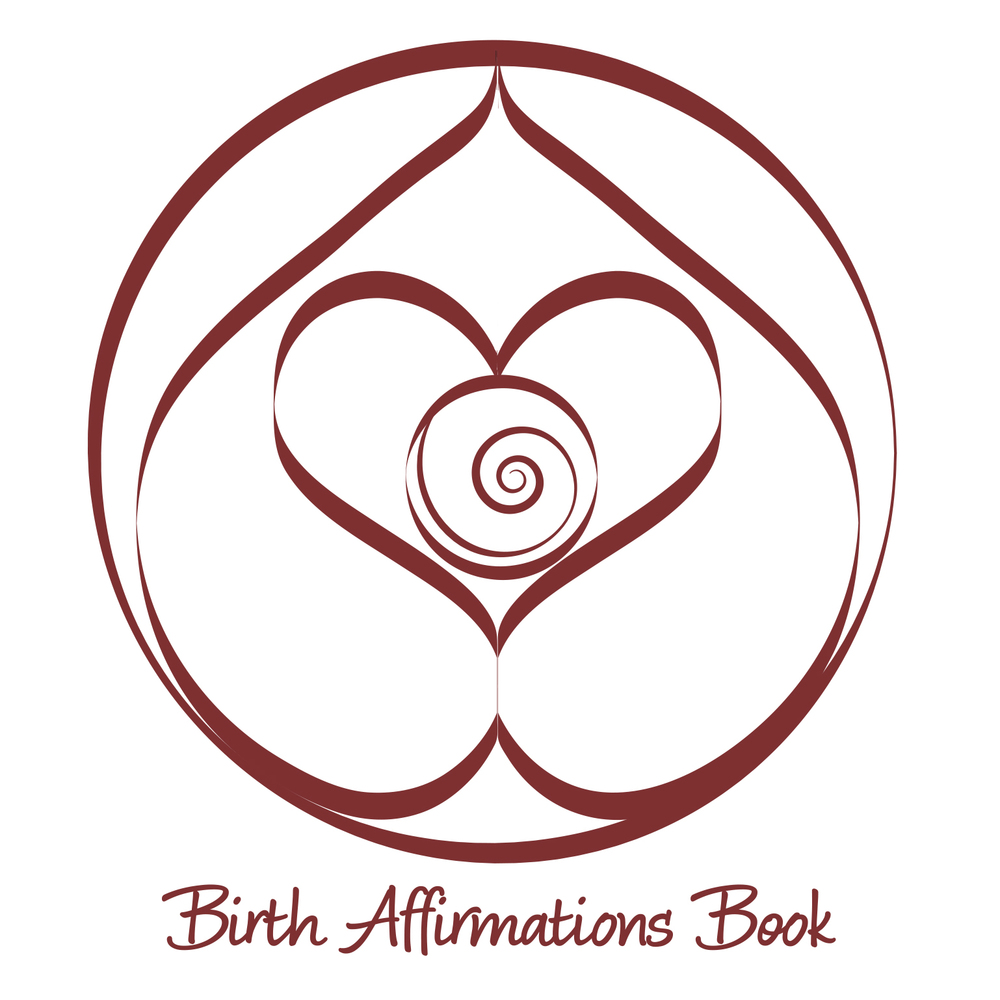 Birth Affirmations Book Logo