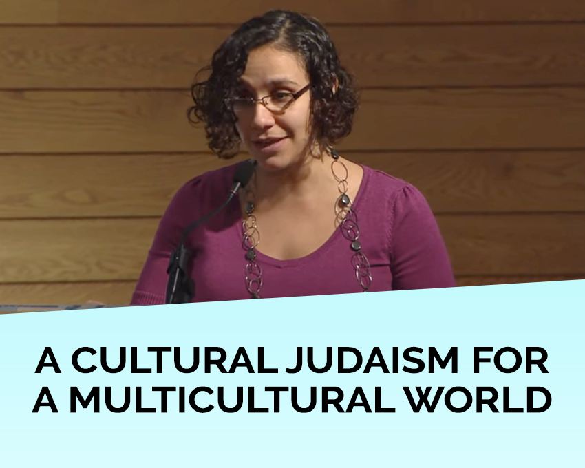 "At Colloquium 2013 of the International Institute for Secular Humanistic Judaism, Rabbi Denise Handlarski of Oraynu Congregation for Humanistic Judaism in Toronto describes ""A Cultural Judaism for a Multicultural World."""