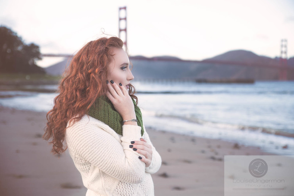 Reesha Carnine, one of our Class of 2016 National Top Model winners on a destination photo shoot in San Francisco. Reesha won a National modeling competion and got to participate in multiple photo shoots and was published in Seen Magazine.