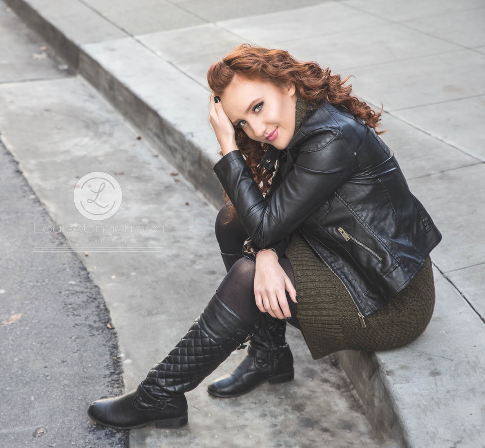 "Reesha Carnine, 2016 NATIONAL Top Model ""The 12"" winner. Destination San Francisco."