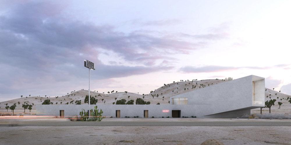 Haceinda - Rethinking the desert roadside hotel