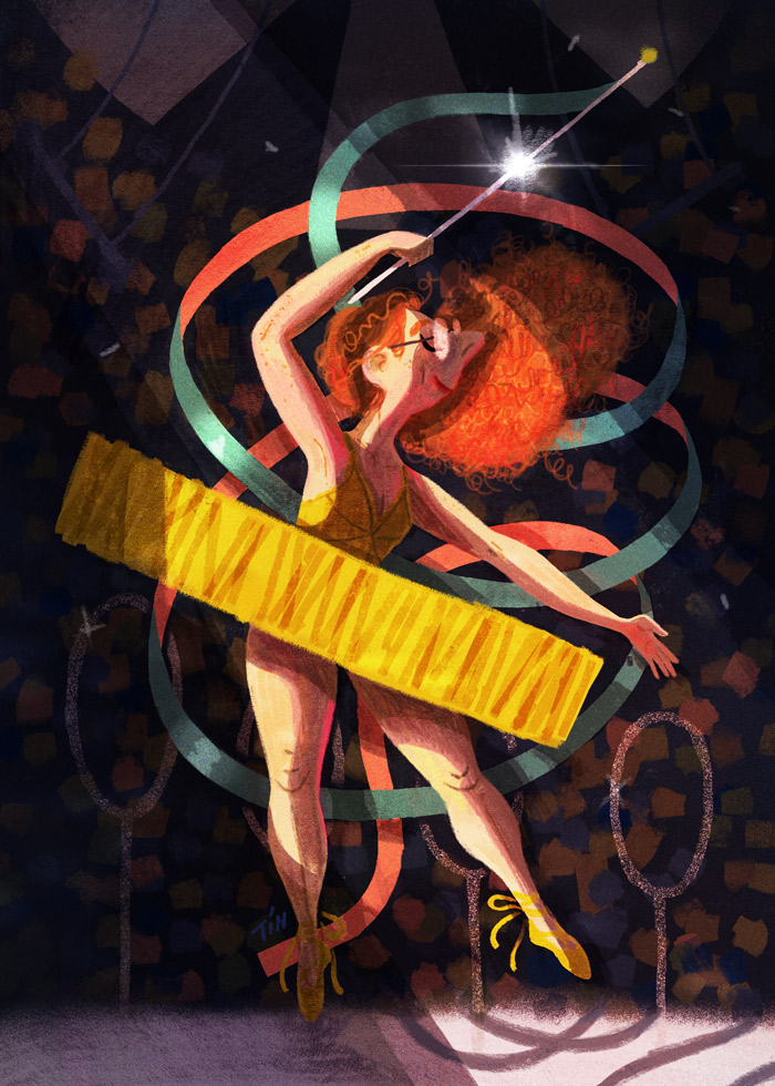 Ribbon Dancer