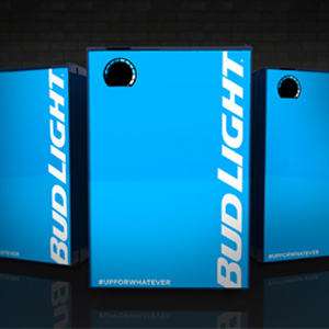 Bud e-fridge