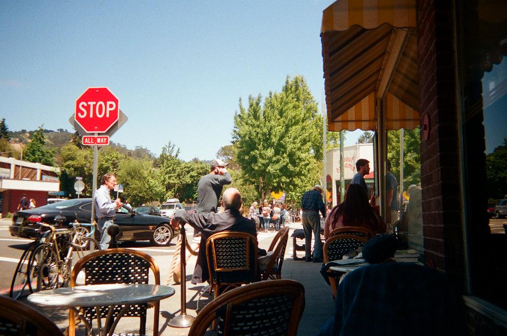 Elmwood Cafe. Berkeley, CA.