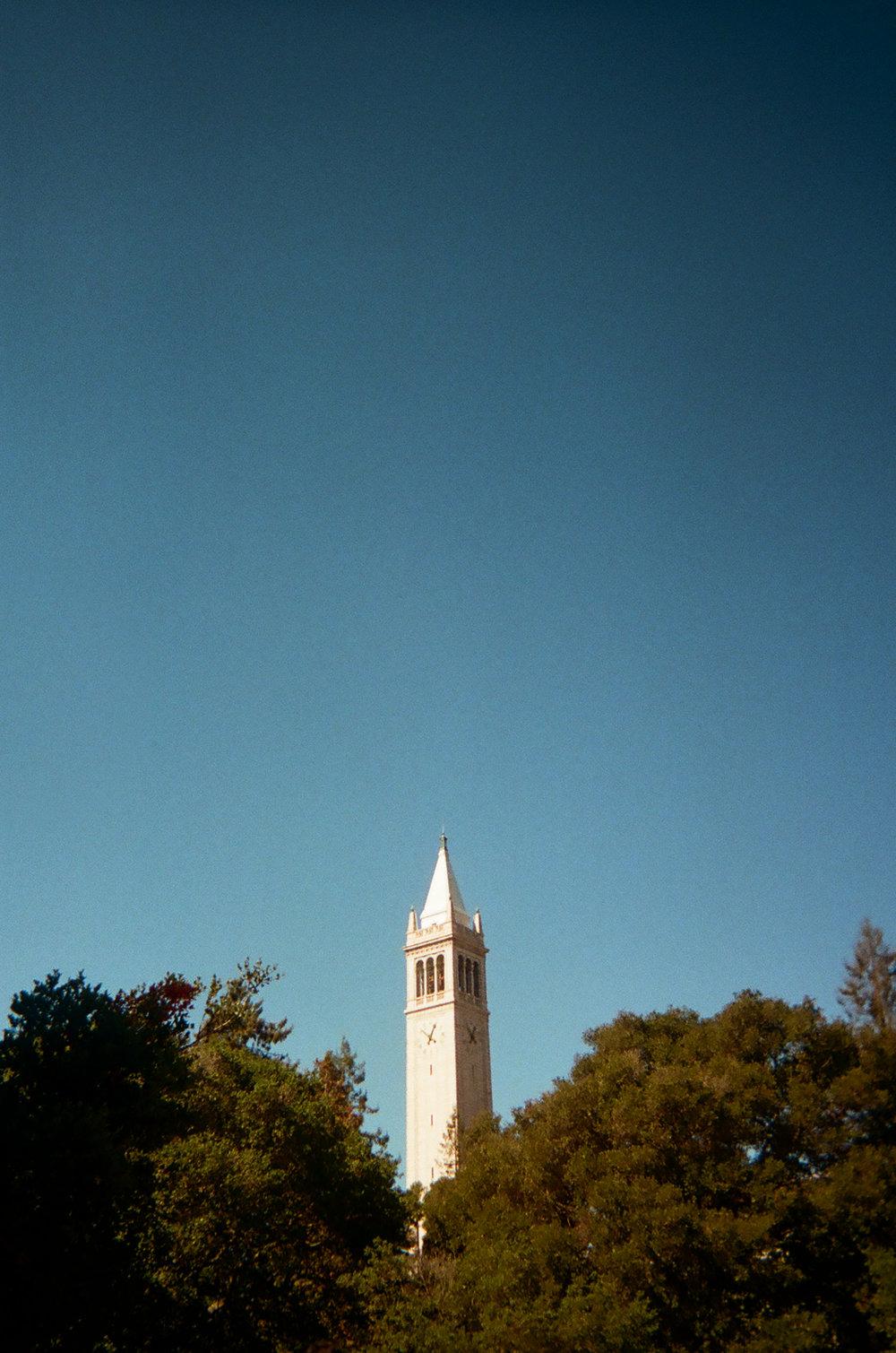 The Campanile. Berkeley, CA.