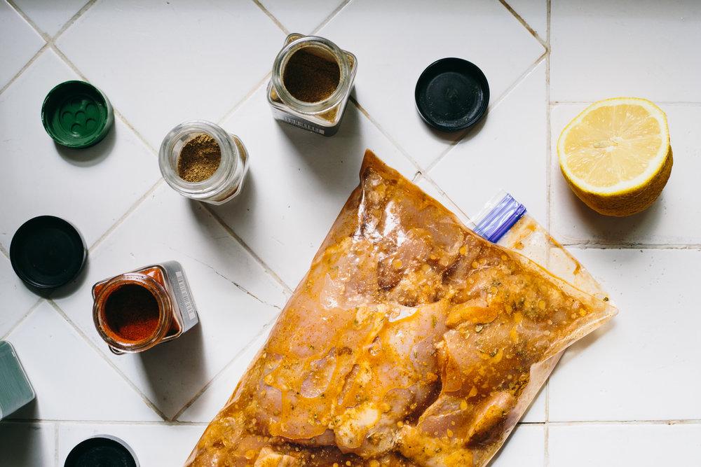 Street Cart Chicken And Rice Flatbread Maci Elise