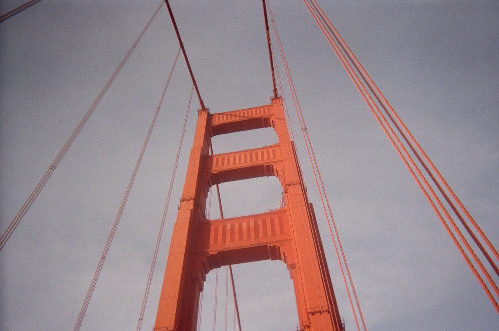 The bridge.  San Francisco, CA.