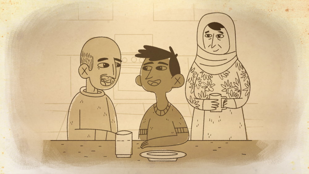 Animation Syrian Refugee Ramman