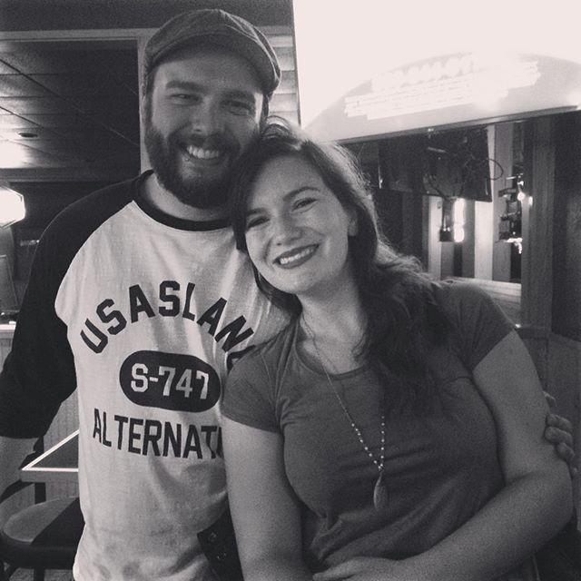 The best kind of people. ❤️😍 #friends #tour #folklife #oregonnice #love @joshua_ray_trowbridge @togetherheather