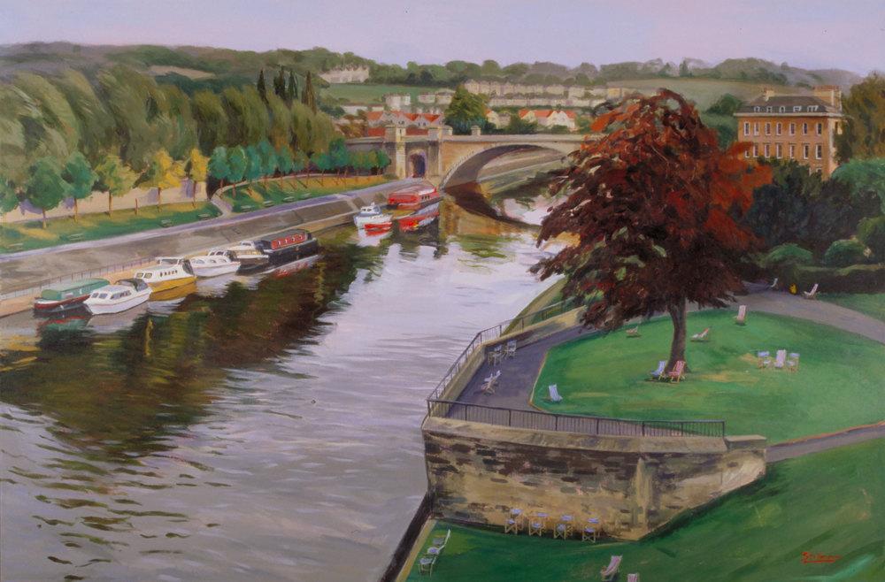 Bath, River