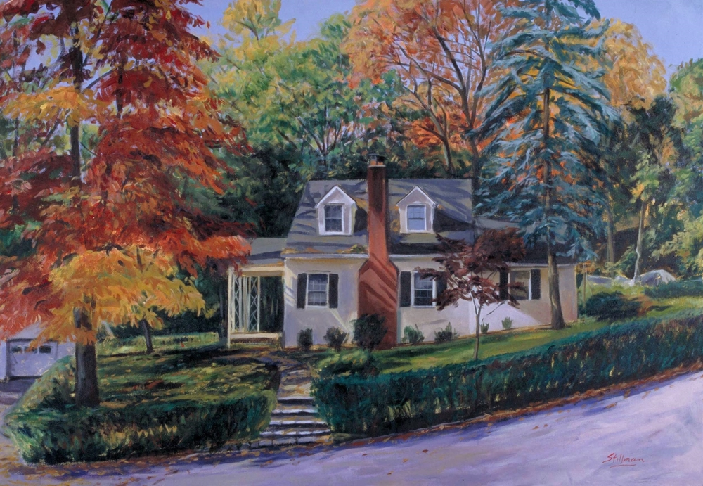 Cottage on the Hill, Fall
