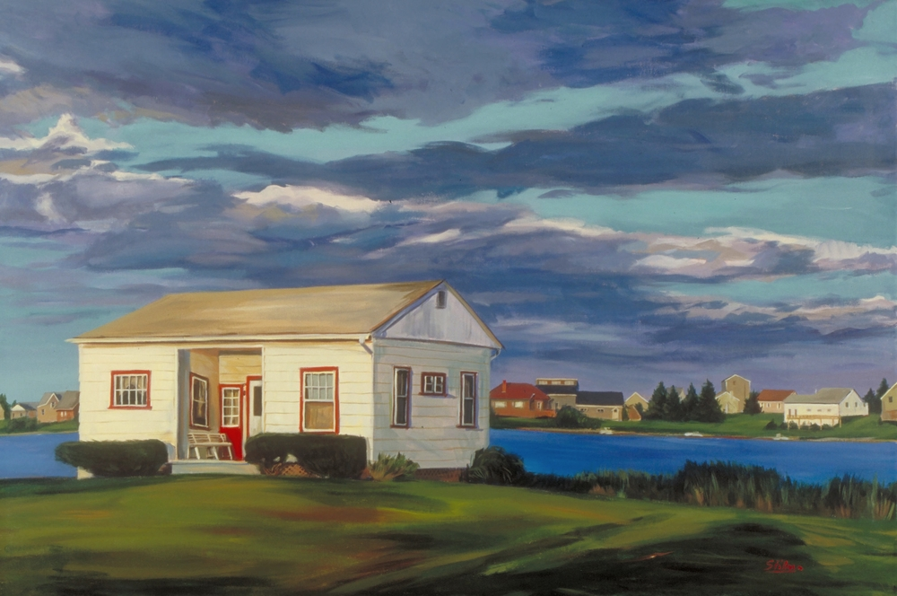 Red Trim House, sold