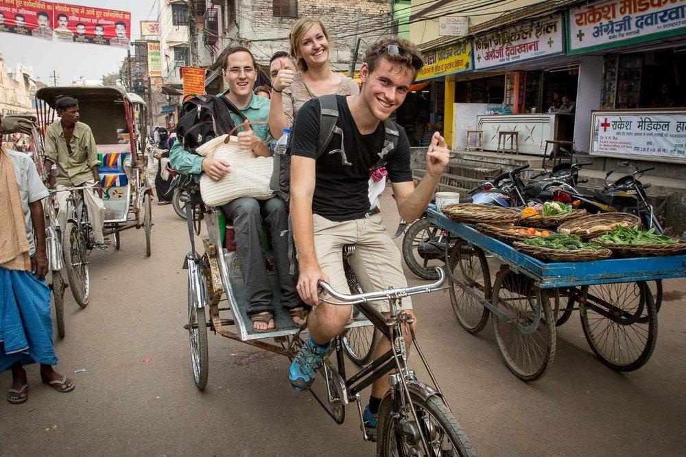 Sozialprojekt in der indischen Pilgerstadt Varanasi Foto: Leni Gründl | Download