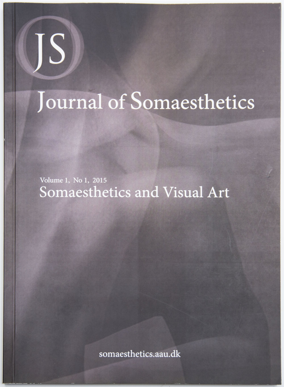 Editorial work / design of The Journal of Somaesthetics (2014 - 2017)