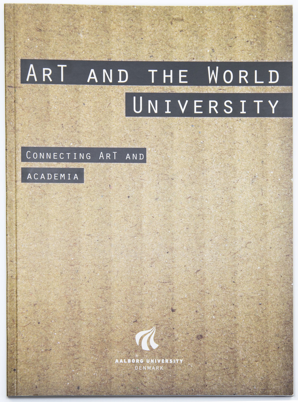 Design / photography for ArT and The World University: Connecting ArT and Academia (2014)