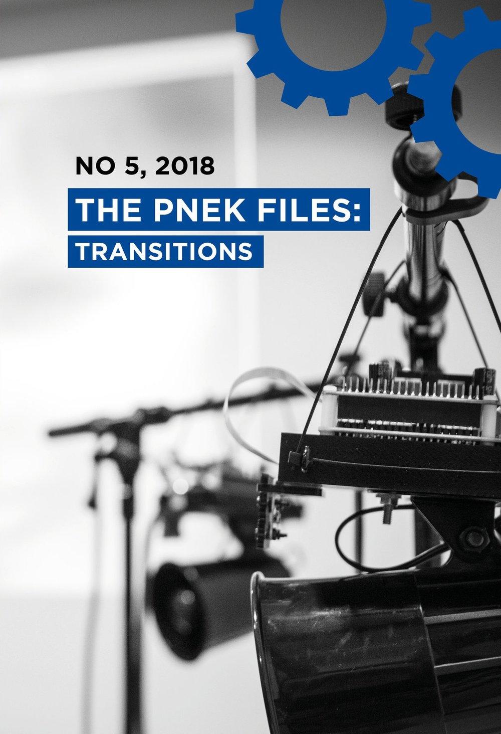 The PNEK Files (No 5): Transitions (upcoming)  Gyrid Nordal Kaldestad, Zane Cerpina (eds.). PNEK, 2019. ISBN:  978-82-93658-06-1