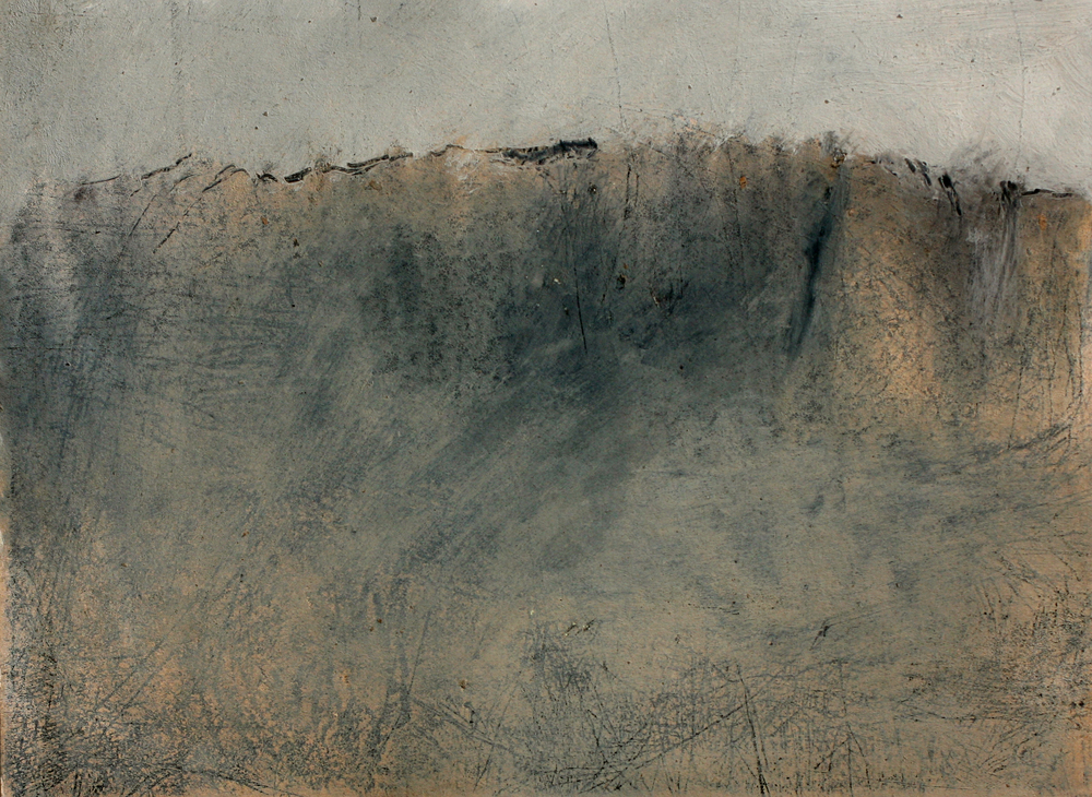 """etching with monotype  7"""" x 9"""""""