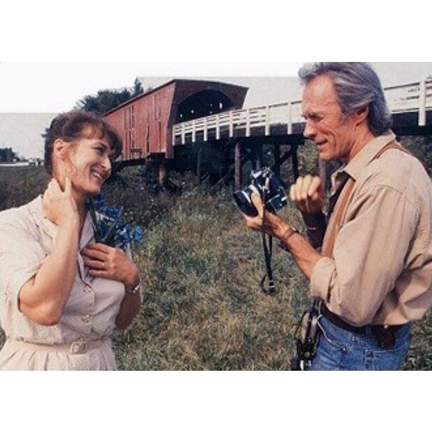 the bridges of madison county. #moviesthatinspiresme #threeoftenfilms #bridgesofmadisoncounty