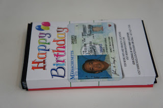"The Registry sends postcards as license renewal reminders. Yes, my first thought upon receiving this notice was ""re-purpose!"" My second thought was: ""Do I or do I not keep my current photo?"" (undecided)"