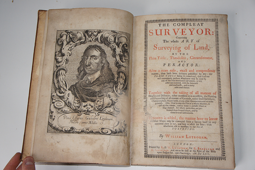 The Compleat Surveyor, Leybourn, 1653