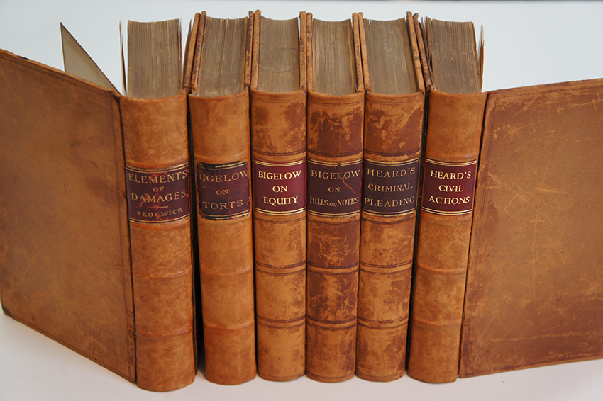 Calvin Coolidge's Law Books
