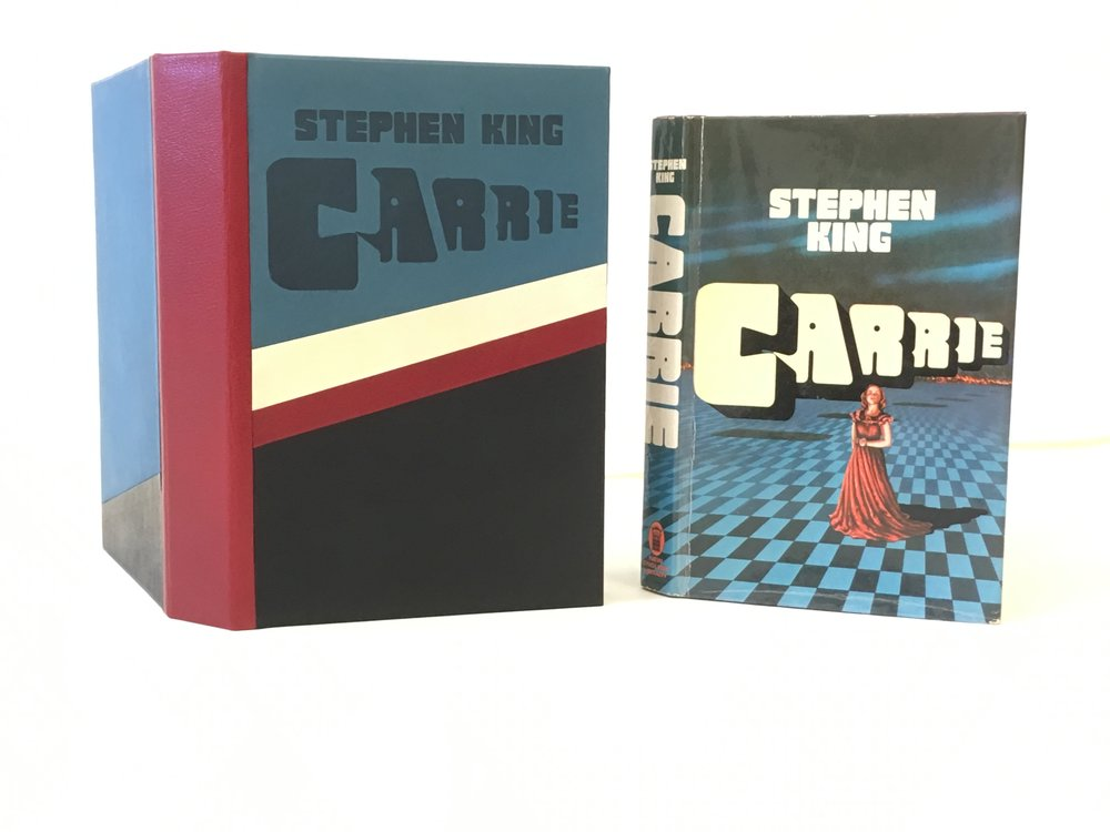 Custom designed box.