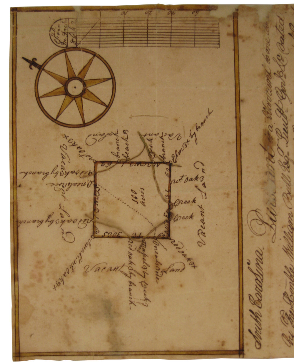 Surveying Map, 1770