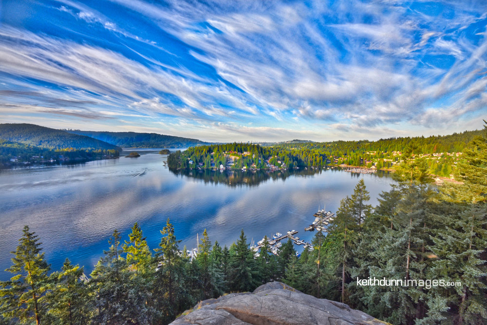 A beautiful Sunrise in Deep Cove    Keith Dunn