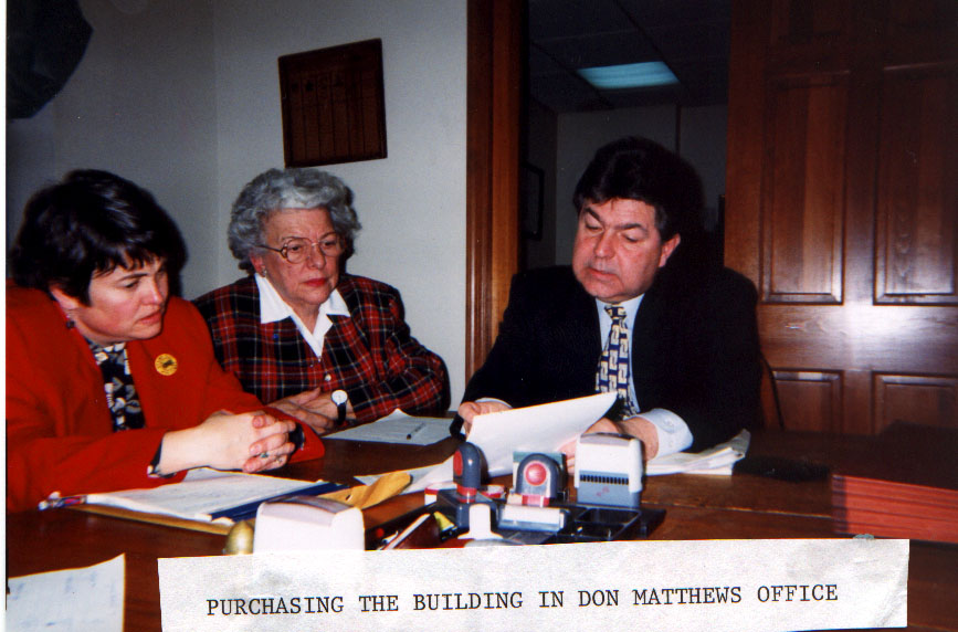 PURCHASING THE CUMAC BUILDING, 1999