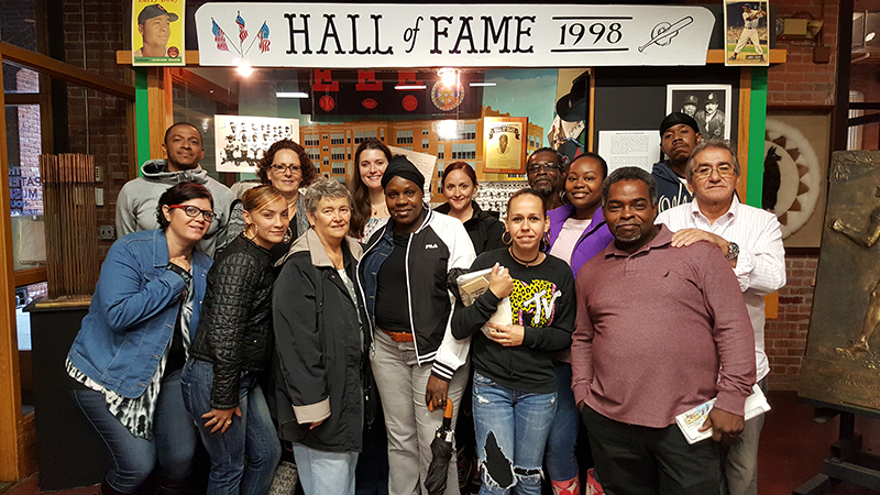 The CUMAC staff at the Paterson Museum