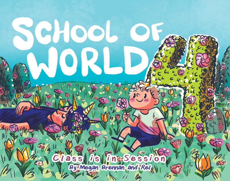 School of World volume 4 cover