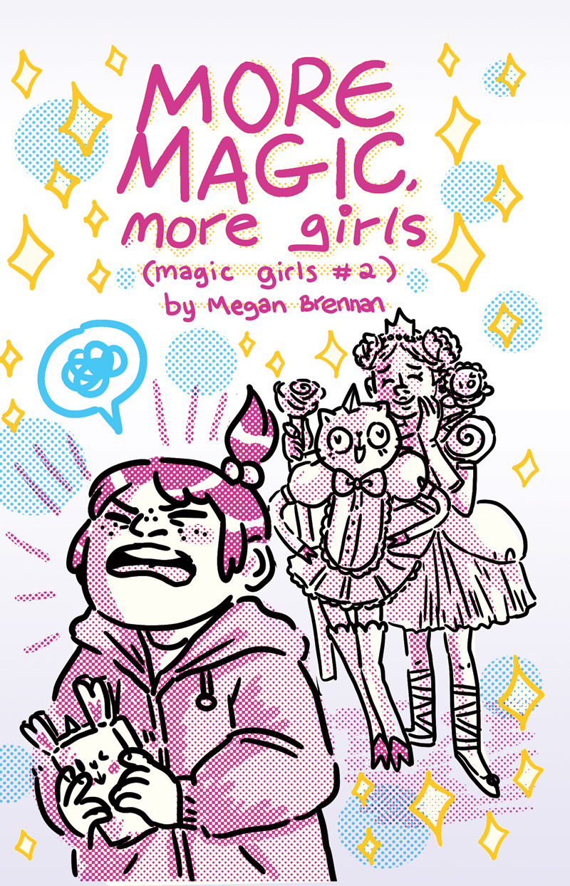 Magic Girls #2 cover