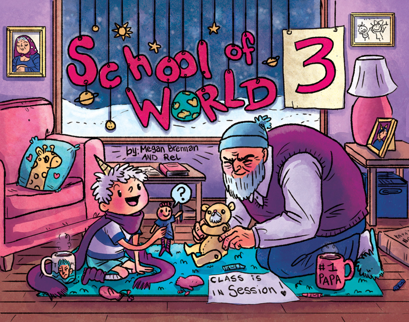 School of World volume 3 cover