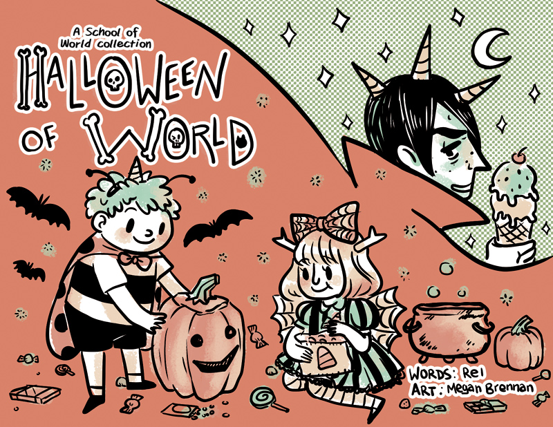 School of World Halloween minicomic