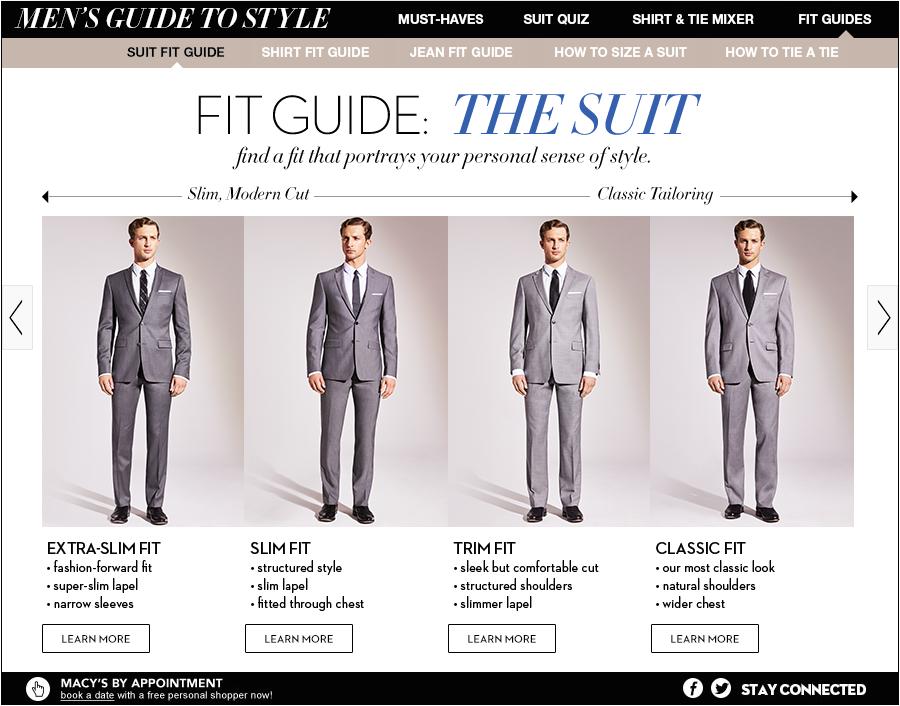 Men 39 S Style Web Design Heidi Smith