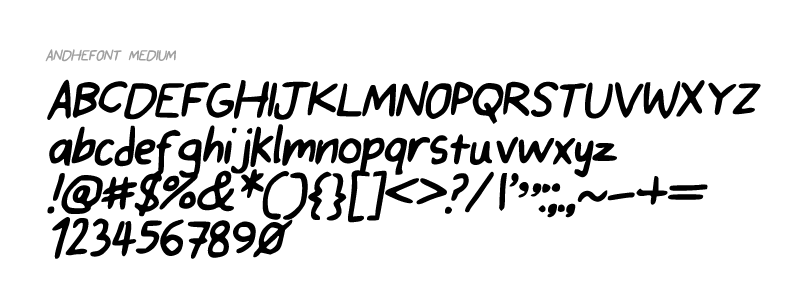 Click on image to download font, or download all fonts below.