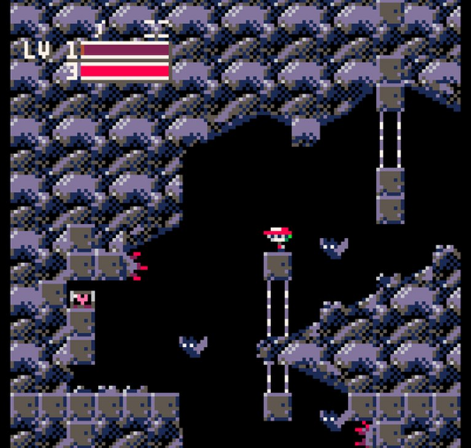 Doukutsu demake - a low-res remake of cave story's first cave