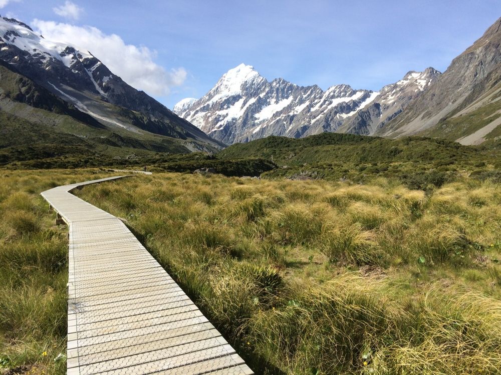 The amazing view of Mount Cook during my annual review and goal setting adventure, Jan 2015.