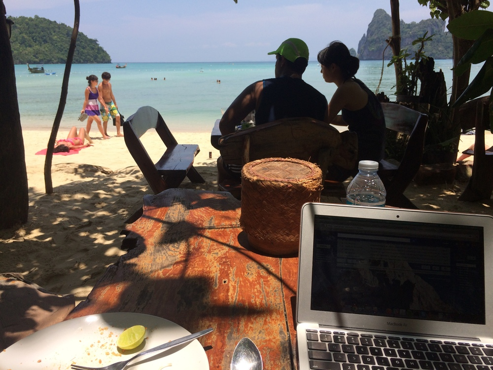 Thailand remote working adventures April 2015