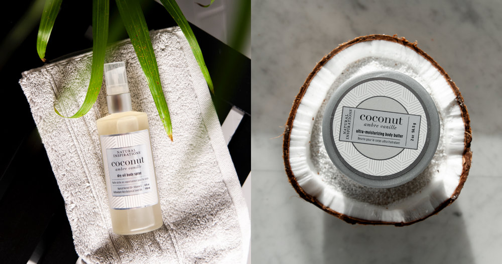 New fragrance for summer 2019coconut ambre vanille - Indulge in a seductive blend of creamy Coconut, warm Madagascar Vanilla, and soft Amber. Pure essential oils of Mandarin and Iris meld with the soft undertones of Sandalwood to create an exotic fragrance that is warm, sensual and enticing.