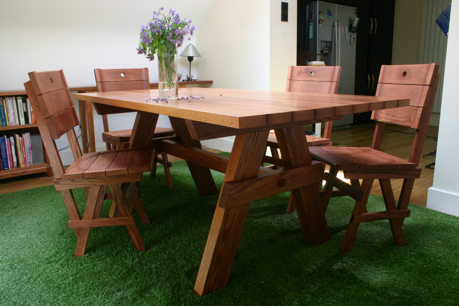 Picnic Table And Chairs 3JPG