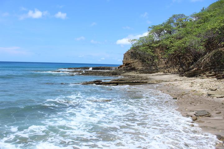 The beautiful Nicaraguan coastline, near San Juan Del Sur.
