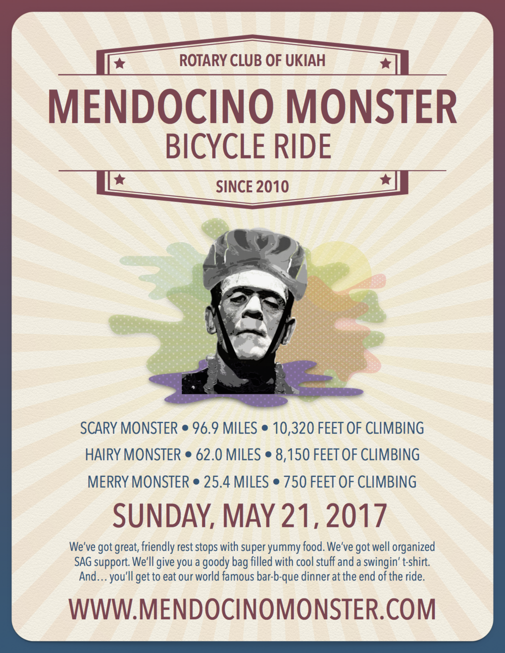 Our 2017 Mendocino Monster Poster.