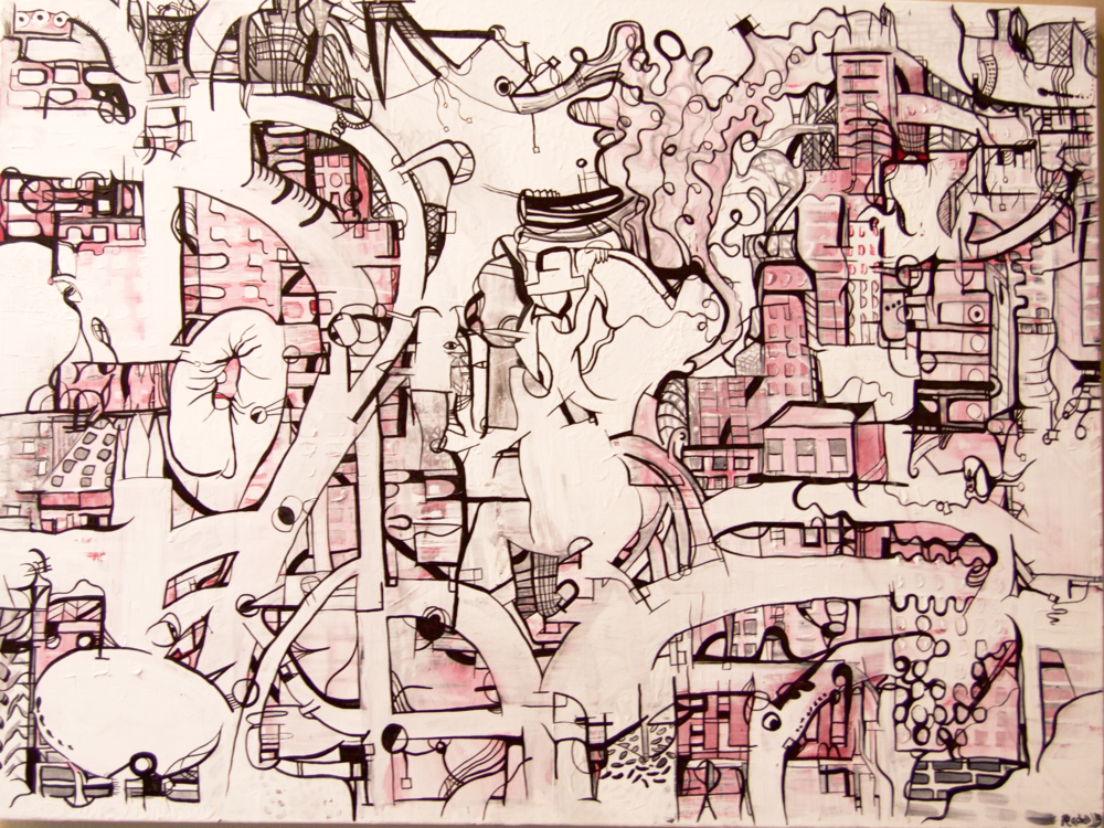 Mindmapping: City Scape