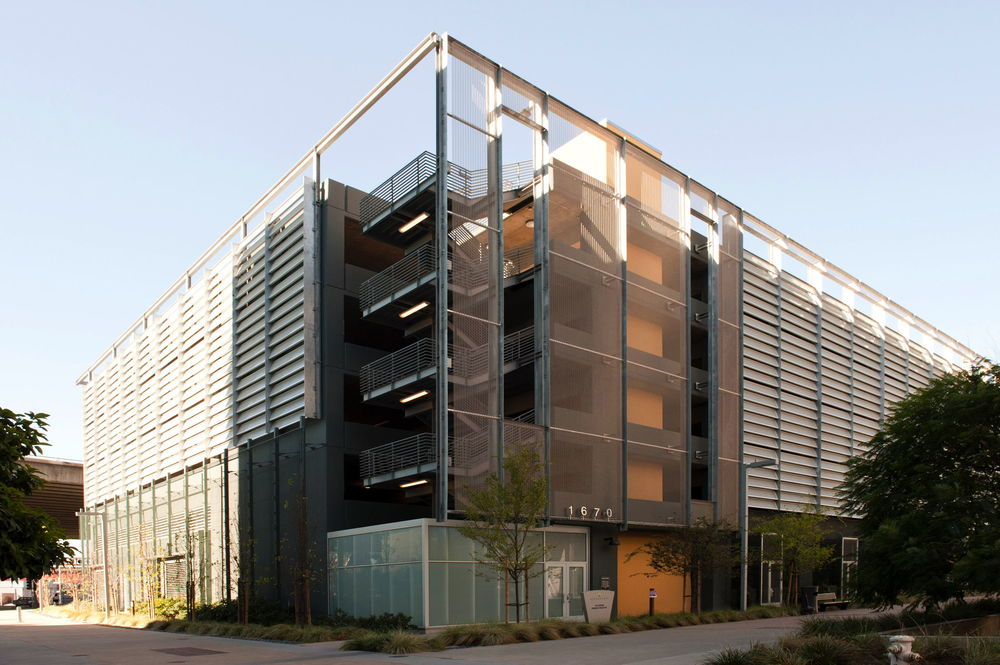 Mission Bay Parking Garage  – San Francsico  – associate architects with Gensler