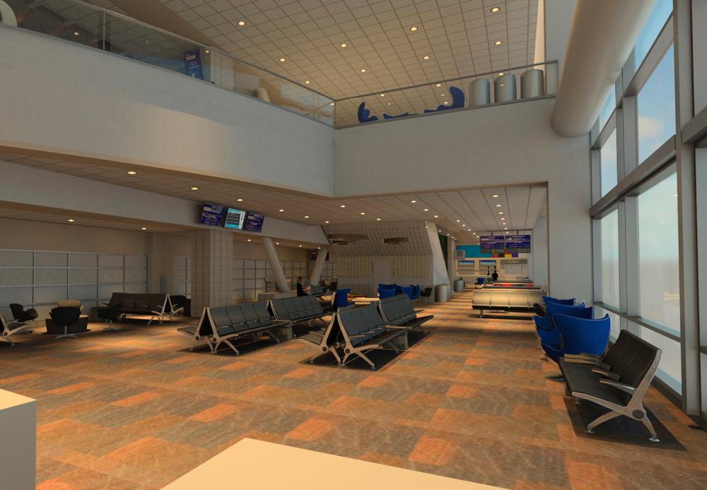 SFO International Terminal Gate Lounges– San Francisco