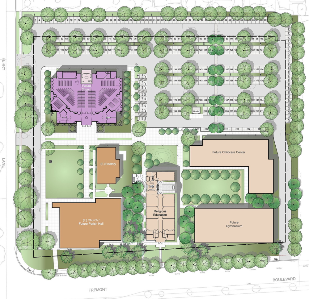 St. James Church Master Plan  – Fremont