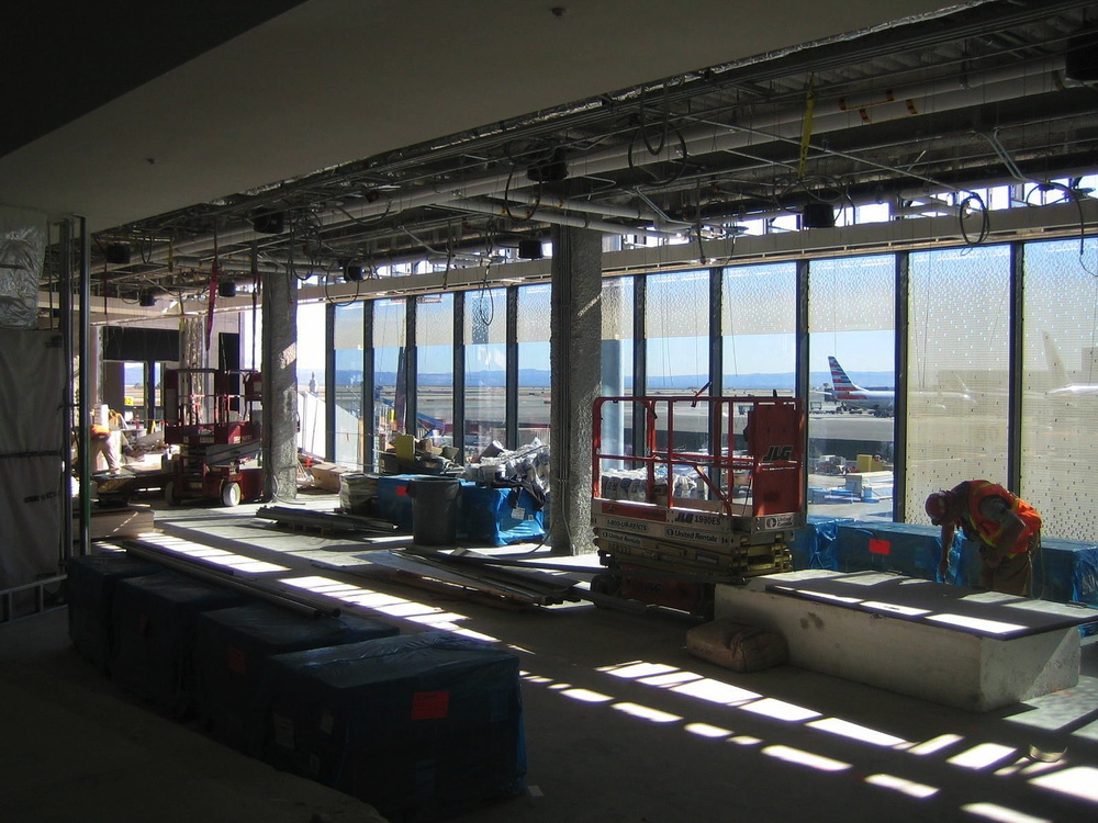 SFO T3 Boarding Area E