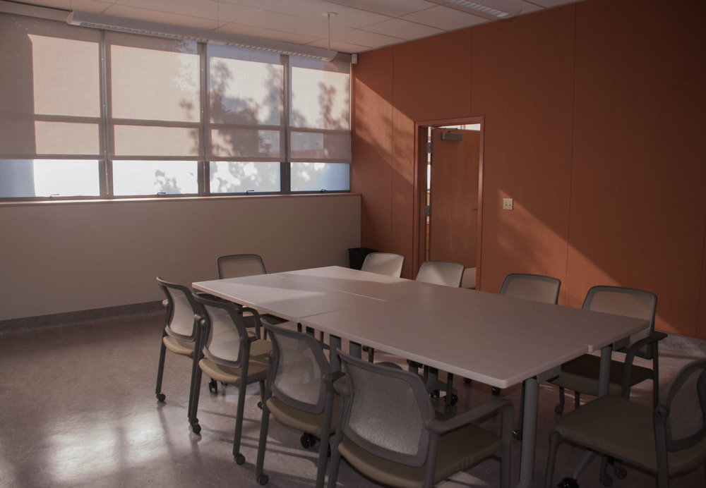 Staff training room